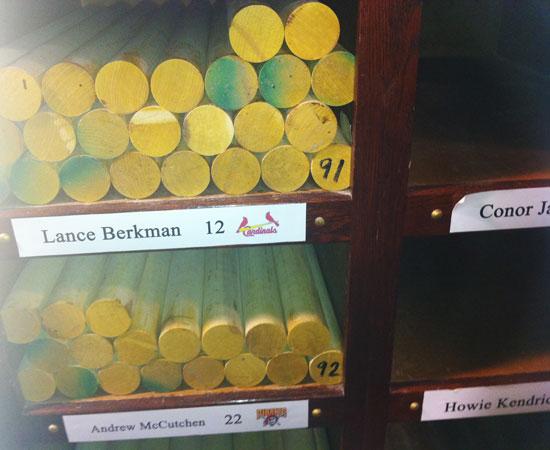 Lance Berkman's future bats