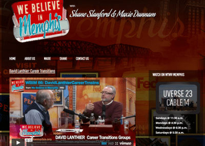 We Believe in Memphis Website