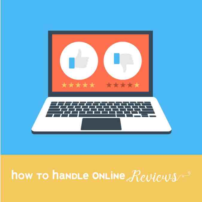 Online Reviews: How to Handle Them