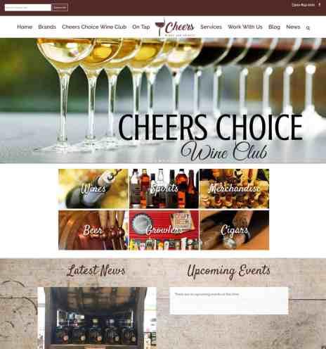 liquor store website
