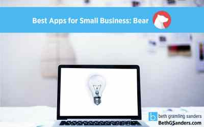 Best Apps for Small Business: Bear