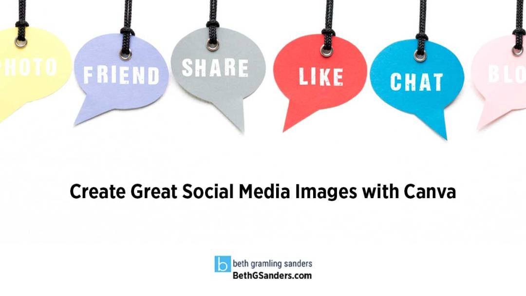 Social Media Images with Canva
