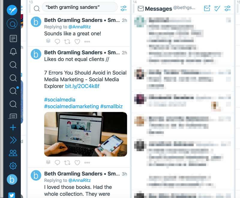 tweetdeck for social listening