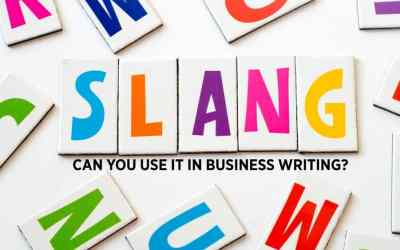 Slang and Jargon: Can You Use Them in Business Writing?