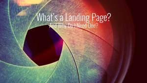 build a landing page
