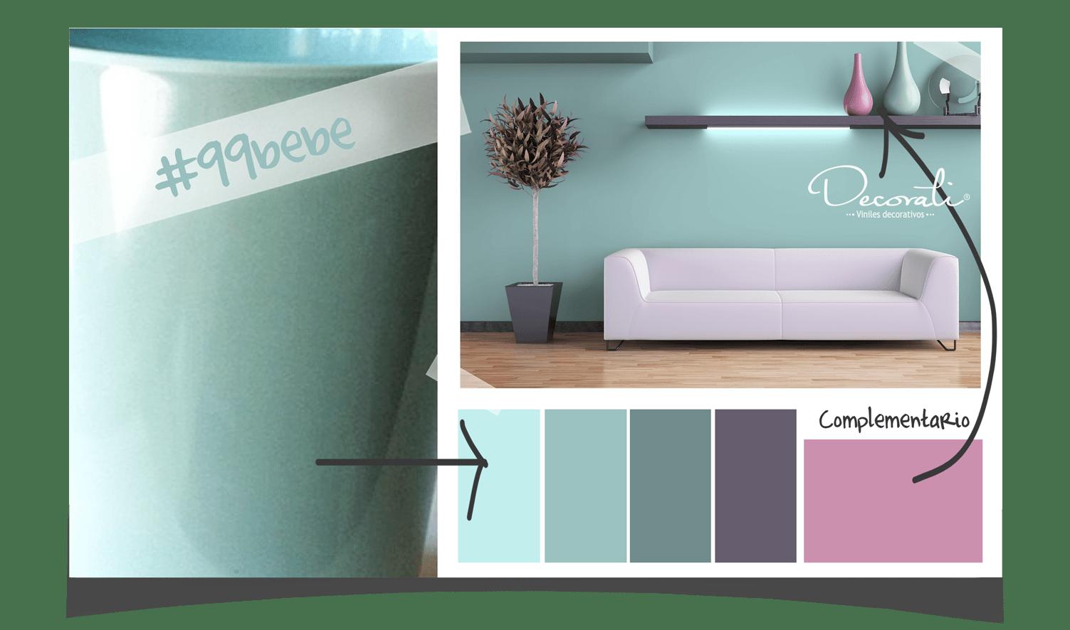 Combinacin de Colores para interiores  Decorati