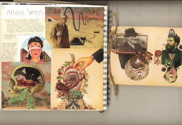Sketchbook Examples And Starting Progression Beth Laura