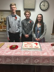 Celebrating our new confirmands