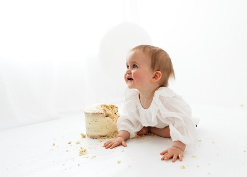 Beth Moore Sussex Cake Smash Photographer