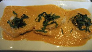 Blue Grotto lobster ravioli KC Oct 2009