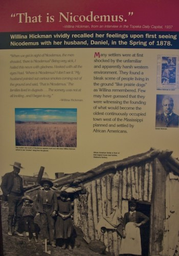 black towns, Nicodemus, African American towns, Exodusters