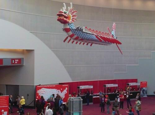 Wordstock, public art Portland, Convention Center