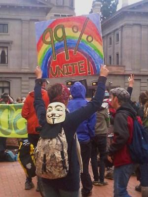 Occupy Portland, Beth Partin's photos