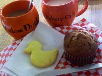 Yellow Duck Bakery Cafe breakfast fall 2012