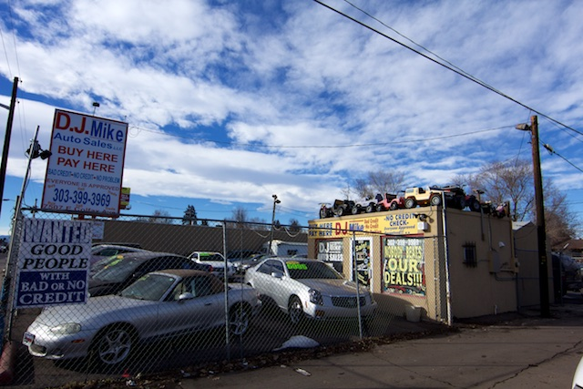 DJ Mike Auto Sales Colfax Denver Jan 2015