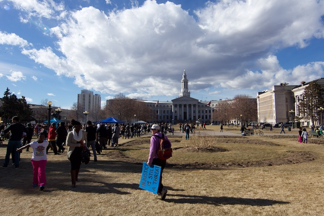 Denver Marade Civic Center Park Jan 2015