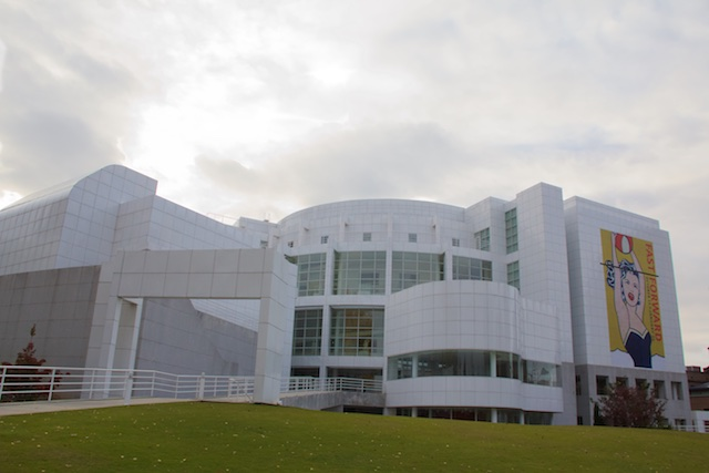 High Museum of Art exterior, Atlanta, 2012