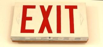 Exit by Beth Pederson