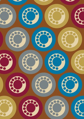 phone pattern colour rgb