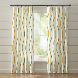 stripe curtain