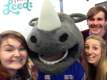 When we met Ronnie the Rhino