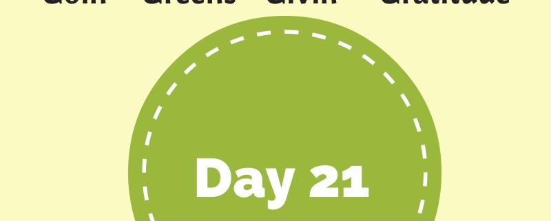 My Feel Good Journal - Day 21 - http://www.BethSawickie.com