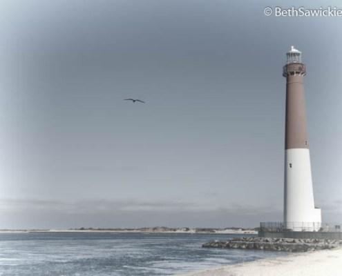 Barnegat Lighthouse by Beth Sawickie