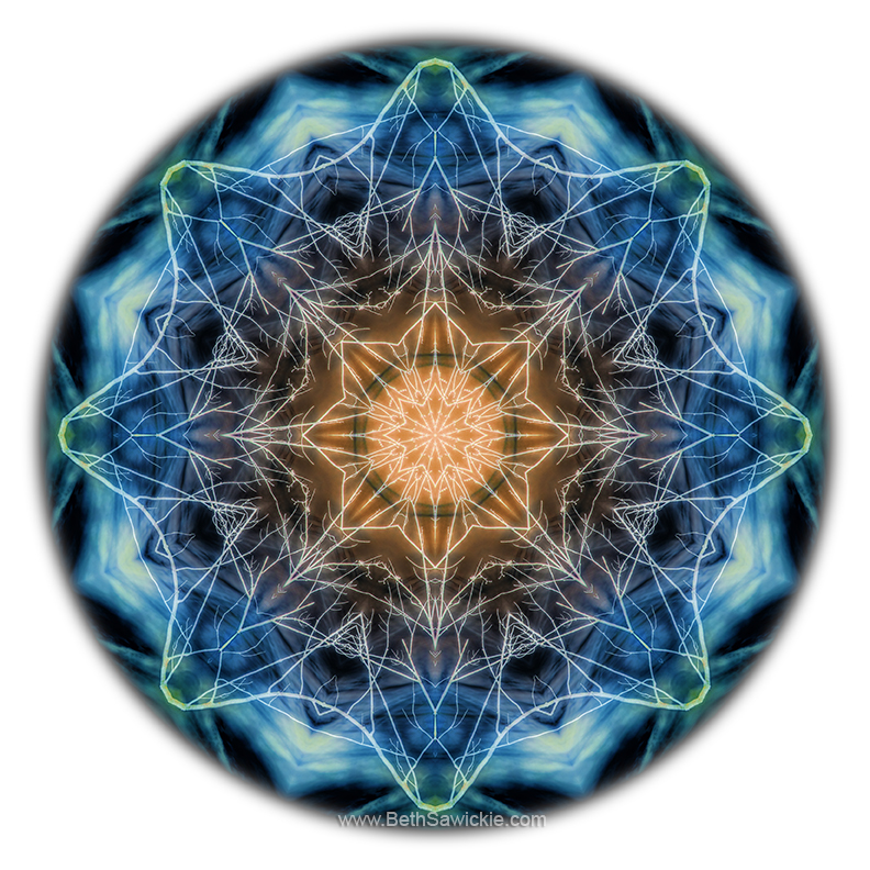 Beat of the World Mandala by Beth Sawickie