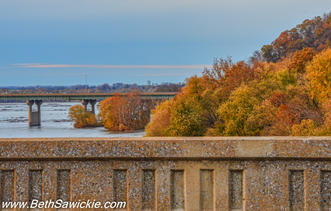 Columbia PA Bridge 2 by Beth Sawickie fall-stroll-columbia-bridge-susquehanna