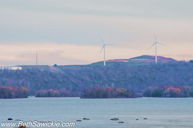 Columbia PA Bridge Wind Mills by Beth Sawickie fall-stroll-columbia-bridge-susquehanna
