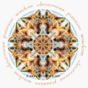 Red Fox Mandala by Beth Sawickie http://www.BethSawickie.com/red-fox-mandala