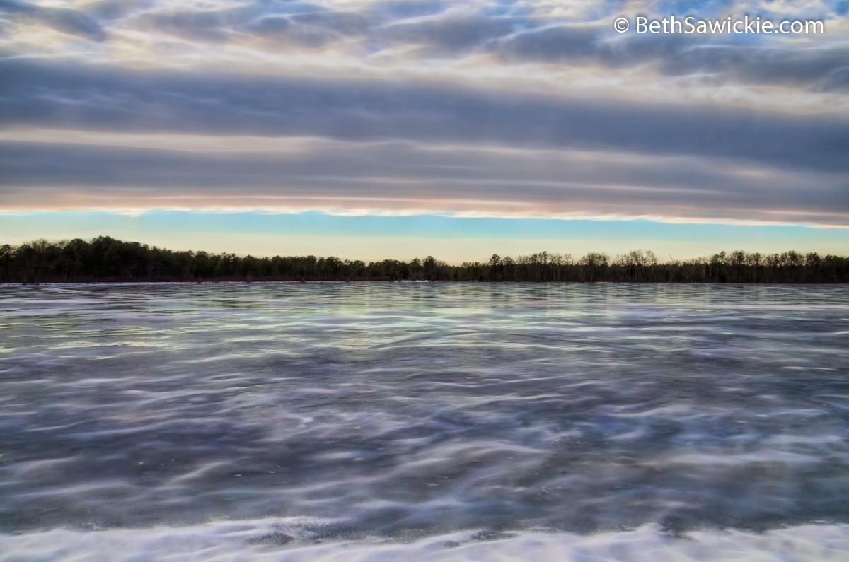 Frozen Bog Feb 23 by Beth Sawickie