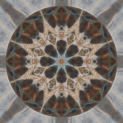 Nature Speaks Mandala by Beth Sawickie