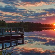 Lake Horicon Sunset 1 by Beth Sawickie http://www.BethSawickie.com/lake-horicon-sunset-1