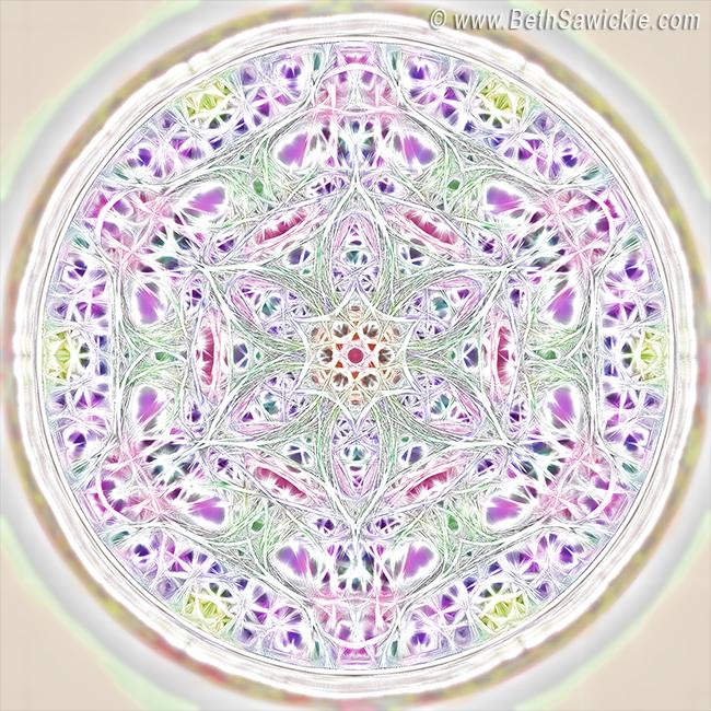 Spring Renewal Mandala by Beth Sawickie http://www.bethsawickie.com/spring-renewal-mandala