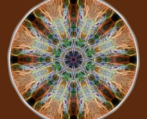 Power of the Stones Mandala by Beth Sawickie http://bethsawickie.com/power-of-the-stones-mandala #mandala #meditation #kaleidoscope #healingenergy