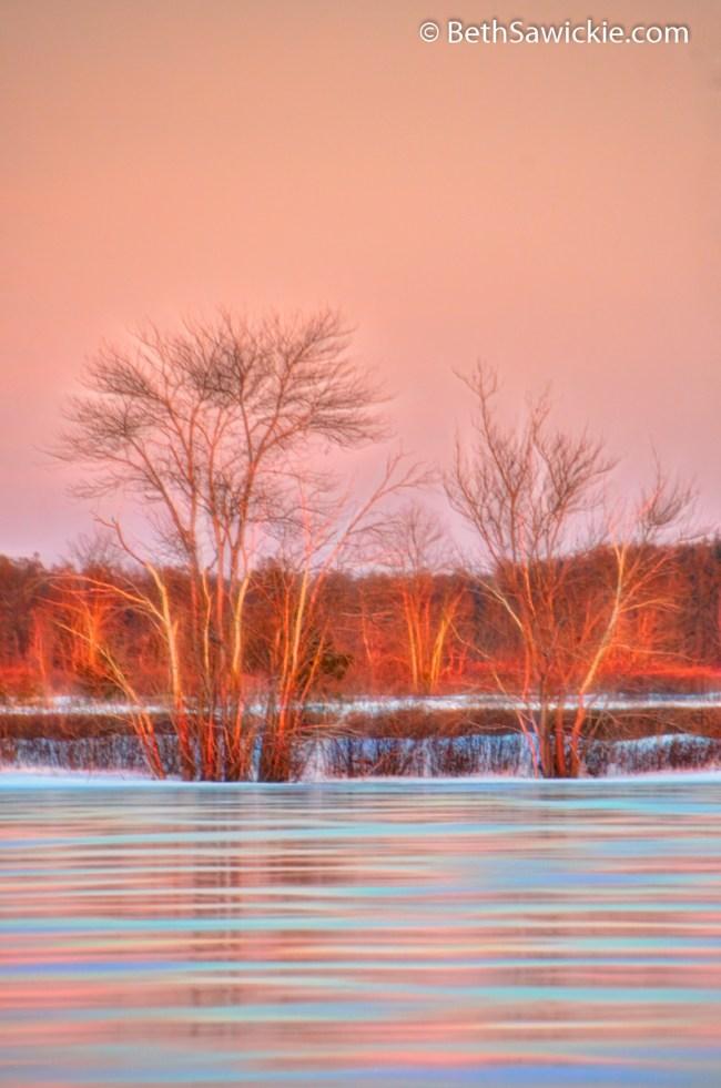 Sunset Glow 5 by Beth Sawickie