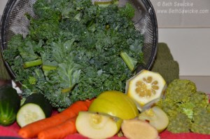 Veggies for juicing http://www.BethSawickie.com