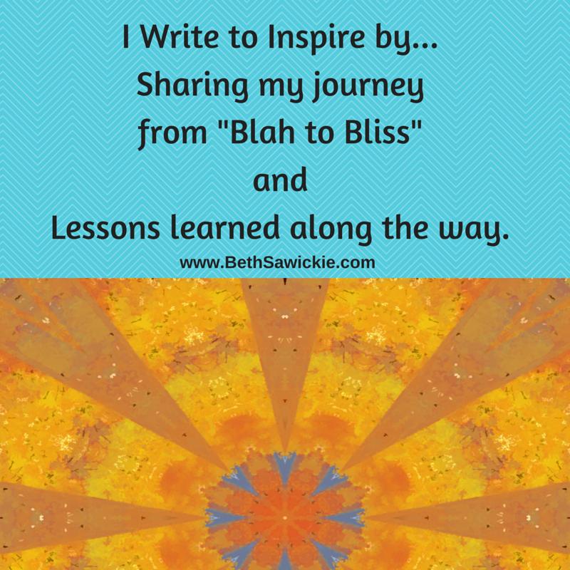 write to inspire - Beth Sawickie http://bethsawickie.com/writings