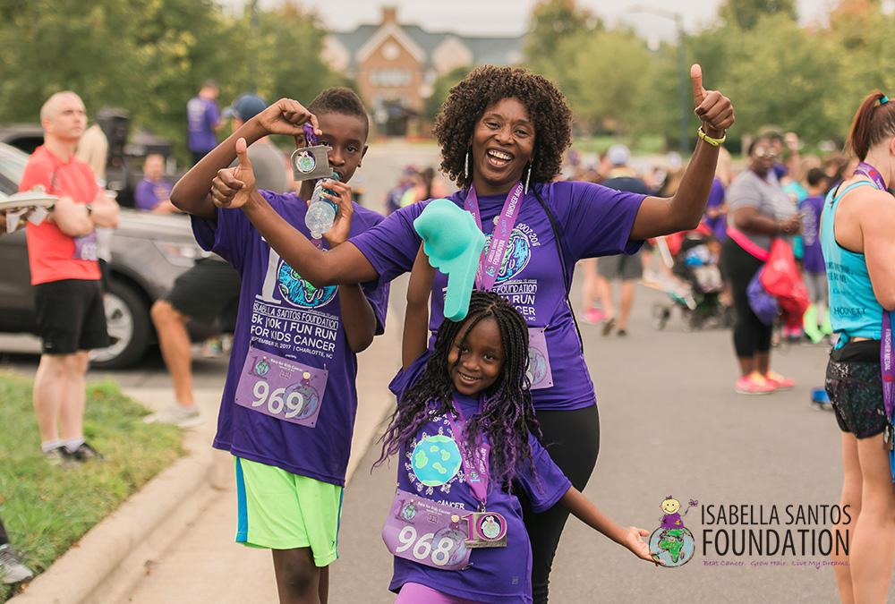 isabella santos foundation - 2017 5k for kids cancer {charlotte professional photographer}