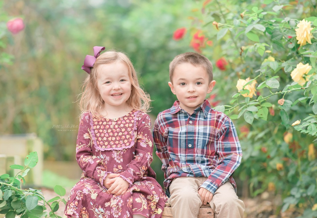 autumn family holiday photos {belmont baby photographer}