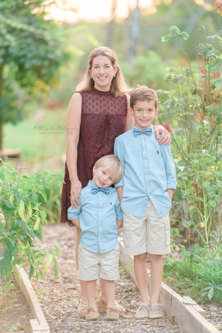 autumn holiday portraits ~ bowtie brothers {charlotte family photos}