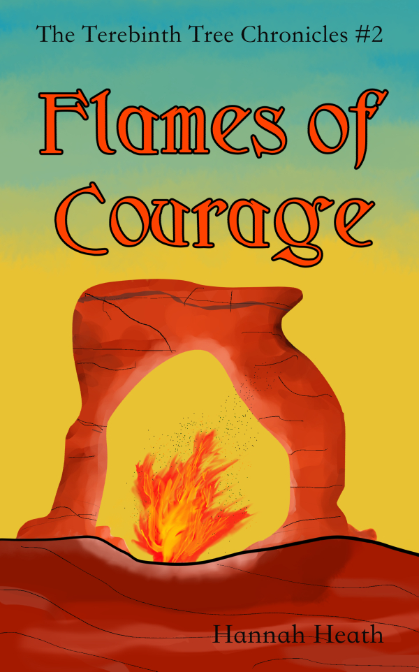 Flames of Courage Print Cover - Matching