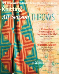 October 2013 Special Issue: Streak of Lightning Afghan