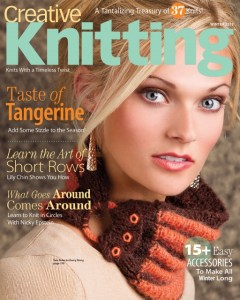 Cover of Creative Knitting Winter 2013