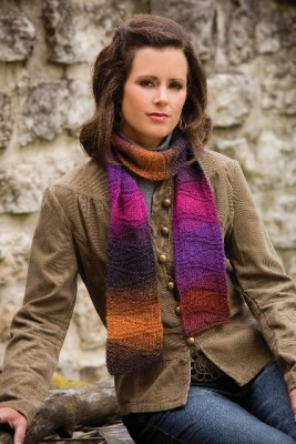 All About Short Rows Scarf