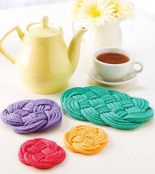Knotted Coasters and Trivets