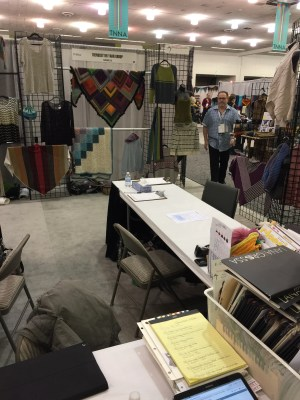 Trendsetter Yarns booth
