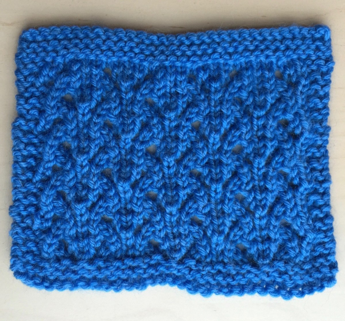 Swatch: Thistles (mult of 8 +1; 8 rows)