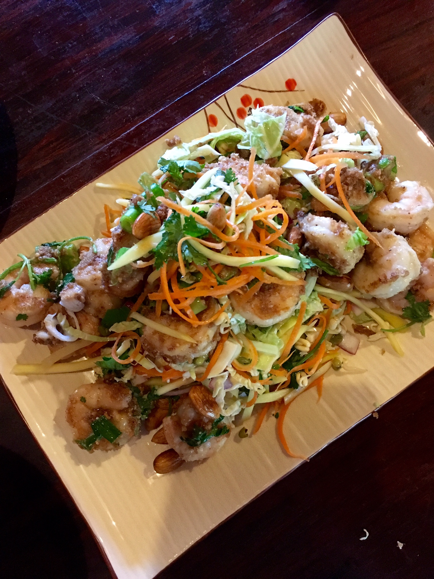 Pickled Green Mango Salad with ABC Prawns